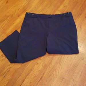 Navy Blue Trousers- Size 18